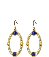 Lucky Brand - Lapis Oval Drop Earrings