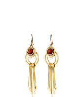 Lucky Brand - Carnelian Paddle Drop Earrings
