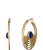 Lucky Brand - Gold Circle Hoop Earrings