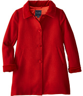 Oscar de la Renta Childrenswear - Wool Button Coat (Toddler/Little Kids/Big Kids)