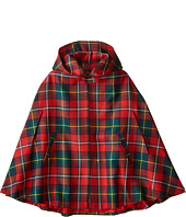Oscar de la Renta Childrenswear - Holiday Plaid Cape (Toddler/Little Kids/Big Kids)