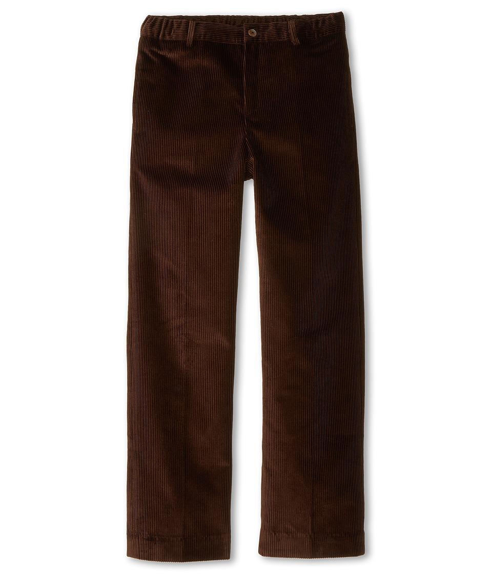 Oscar de la Renta Childrenswear Corduroy Classic Pants Toddler/Little Kids/Big Kids Brown Boys Casual Pants