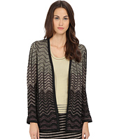 M Missoni - Ripple Stitch Lurex Cardigan