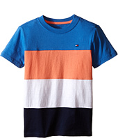 Tommy Hilfiger Kids - Pieced Stripe Tee (Toddler/Little Kids)
