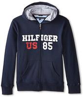 Tommy Hilfiger Kids - Long Sleeve Hilfiger Hoodie (Big Kids)