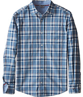 Vince Kids - Plaid Utility Button Up (Big Kids)