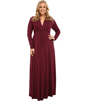 Rachel Pally Plus - Plus Size Long Sleeve Full Length Caftan