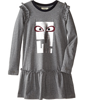 Fendi Kids - Logo Dress w/ Eye (Toddler)
