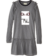 Fendi Kids - Logo Dress w/ Eye (Little Kids)