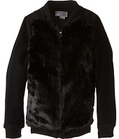 Vince Kids - Fur Bomber Jacket (Big Kids)