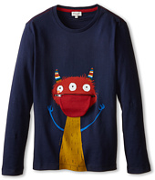 Paul Smith Junior - Long Sleeve T-Shirt w/ Little Monster Print (Toddler/Little Kids/Big Kids)