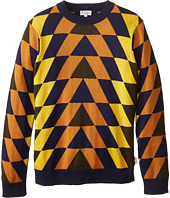 Paul Smith Junior - Colored Triangle Knit Sweater (Toddler/Little Kids/Big Kids)