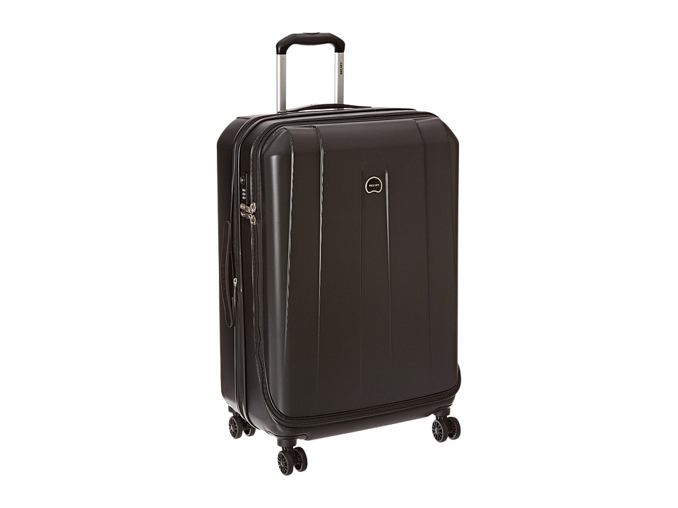 Delsey Helium Shadow 3.0-25 Expandable Spinner Suiter Trolley (Black) Luggage