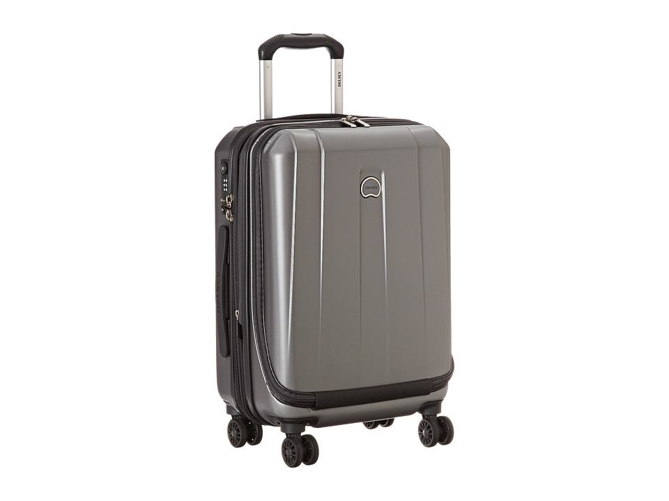Delsey Helium Shadow 3.0-19 International Carry-On Expandable Spinner Suiter Trolley (Platinum) Luggage