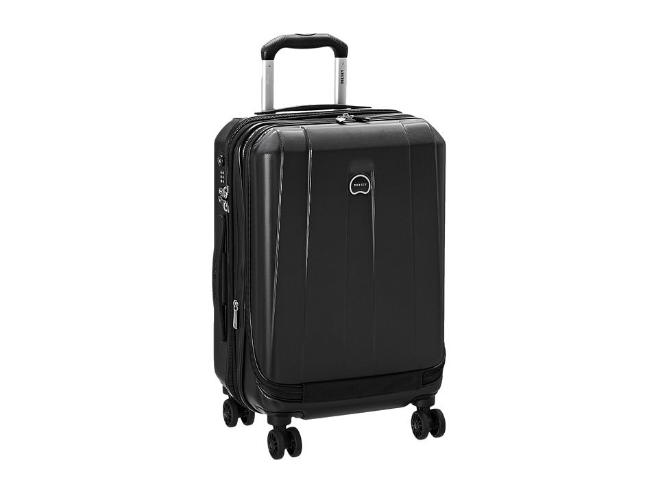 Delsey Helium Shadow 3.0-19 International Carry-On Expandable Spinner Suiter Trolley (Black) Luggage