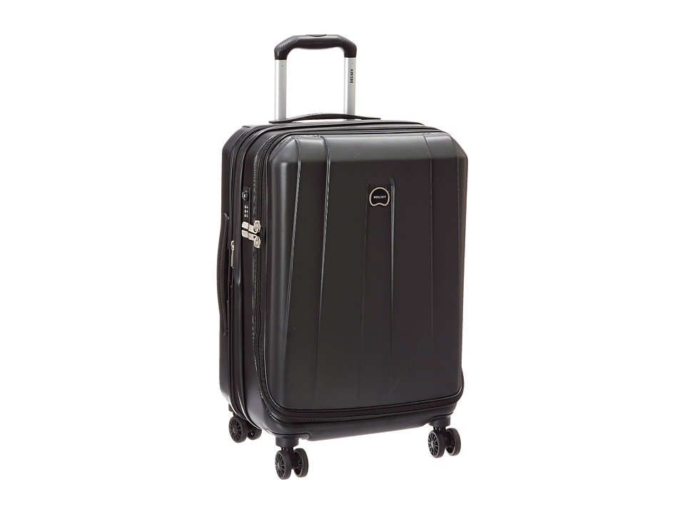 Delsey Helium Shadow 3.0-21 Carry- On Expandable Spinner Suiter Trolley (Black) Luggage