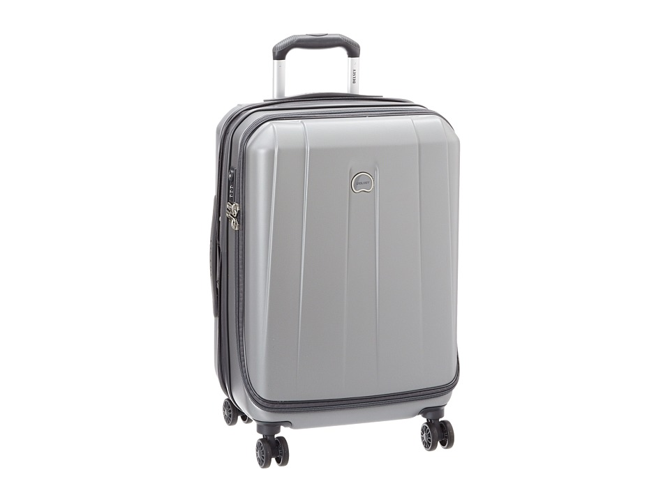 Delsey Helium Shadow 3.0-21 Carry- On Expandable Spinner Suiter Trolley (Platinum) Luggage
