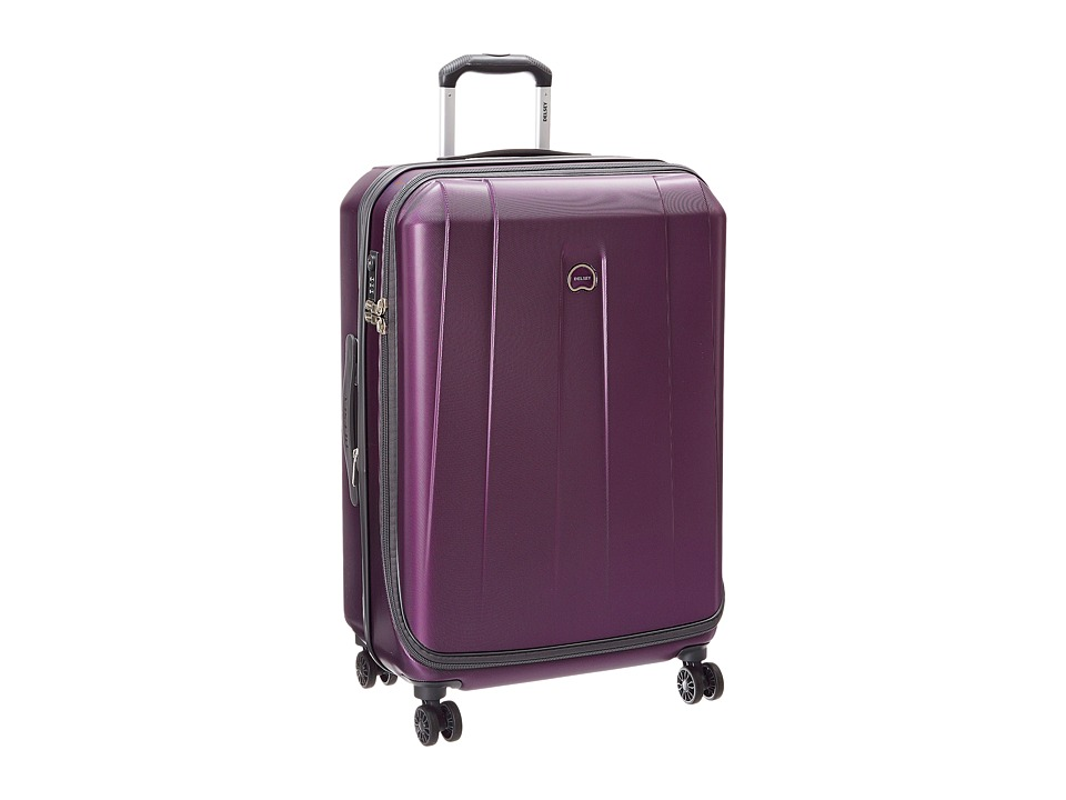 Delsey Helium Shadow 3.0-25 Expandable Spinner Suiter Trolley (Purple) Luggage