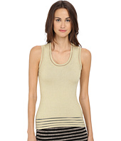 M Missoni - Solid Lurex Tank Top