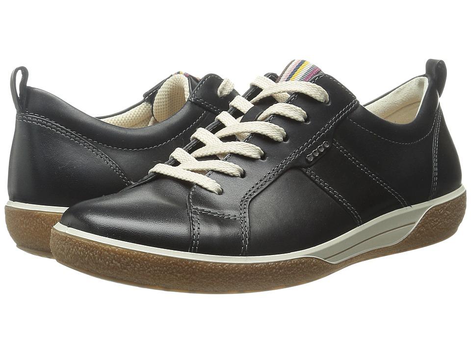 ECCO Chase Black Dress Black Womens Shoes