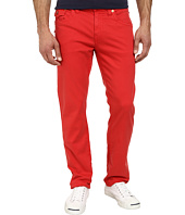 True Religion - Geno Slim Straight Twill with Flap in True Red