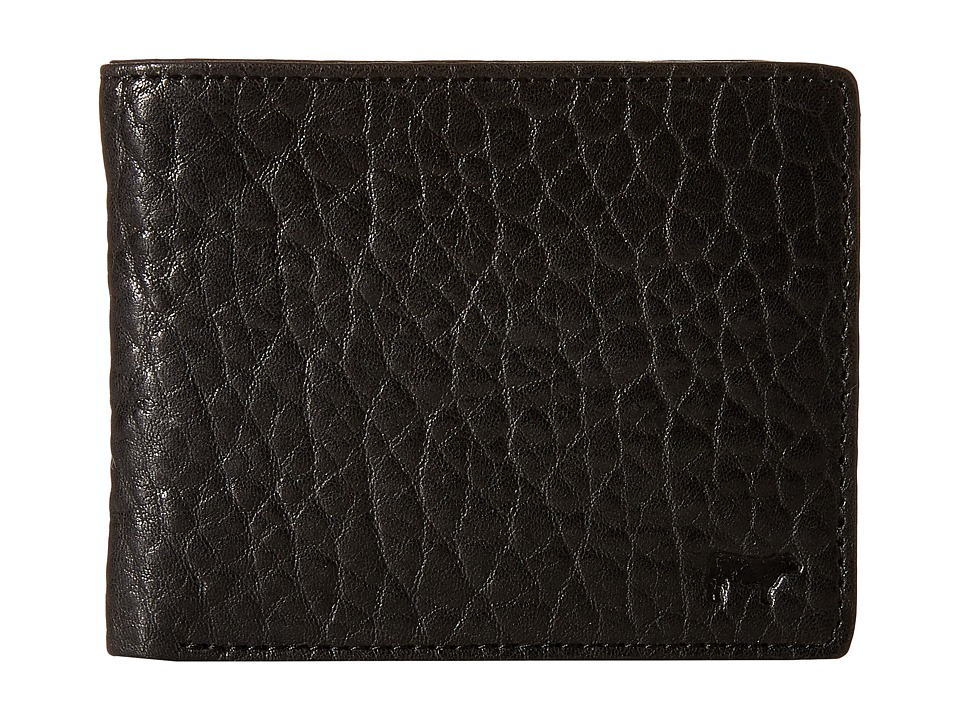 Will Leather Goods - Marvel Billfold (Black/Grey) Bill-fold Wallet