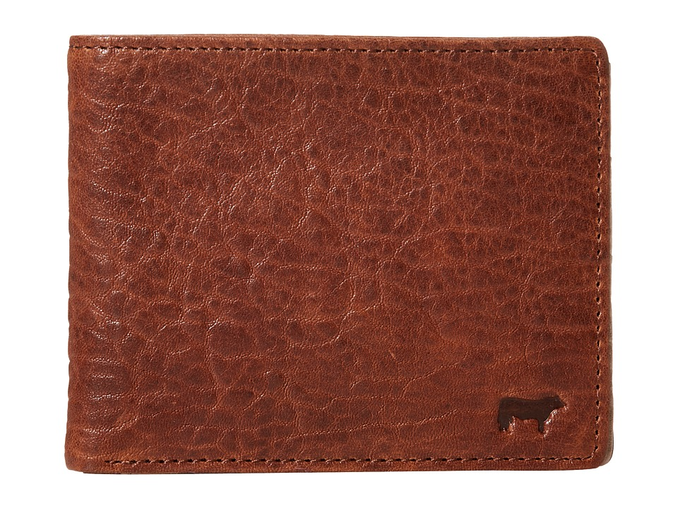 Will Leather Goods - Marvel Billfold (Cognac/Stone) Bill-fold Wallet
