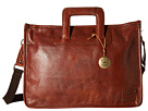 Will Leather Goods Eli Attache All Leather (Cognac)