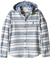 Billabong Kids - Upstate Hooded Long Sleeve Shirt (Big Kids)