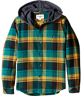 Billabong Kids - Venture Hooded Long Sleeve Shirt (Big Kids)
