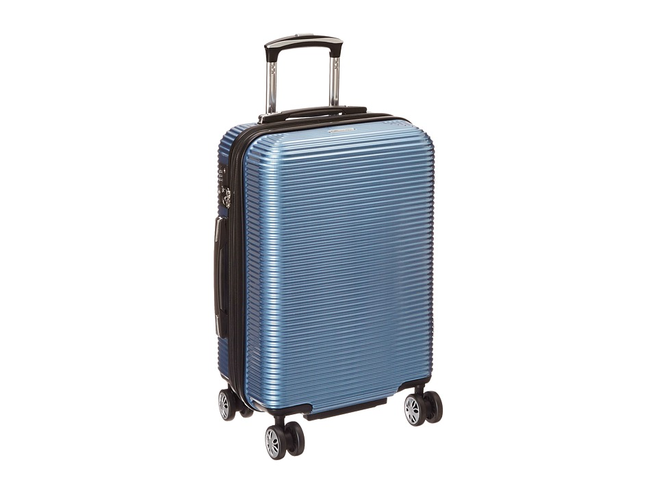 Kenneth Cole Reaction - Sudden Impact - 20 Expandable 8-Wheel Carry-On (Ice Blue) Carry on Luggage