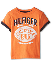 Tommy Hilfiger Kids - Short Sleeve State Champs Tee (Toddler/Little Kids)