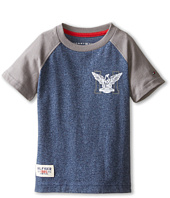 Tommy Hilfiger Kids - Marled Short Sleeve Crew Tee (Toddler/Little Kids)