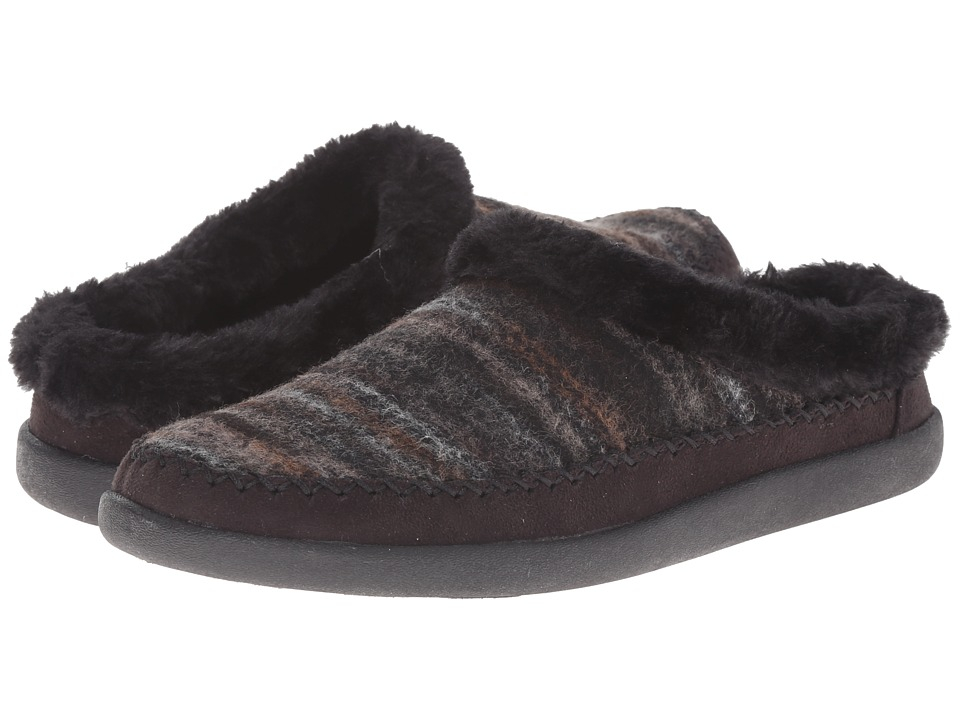 Tempur Pedic Convection Charcoal Womens Slippers