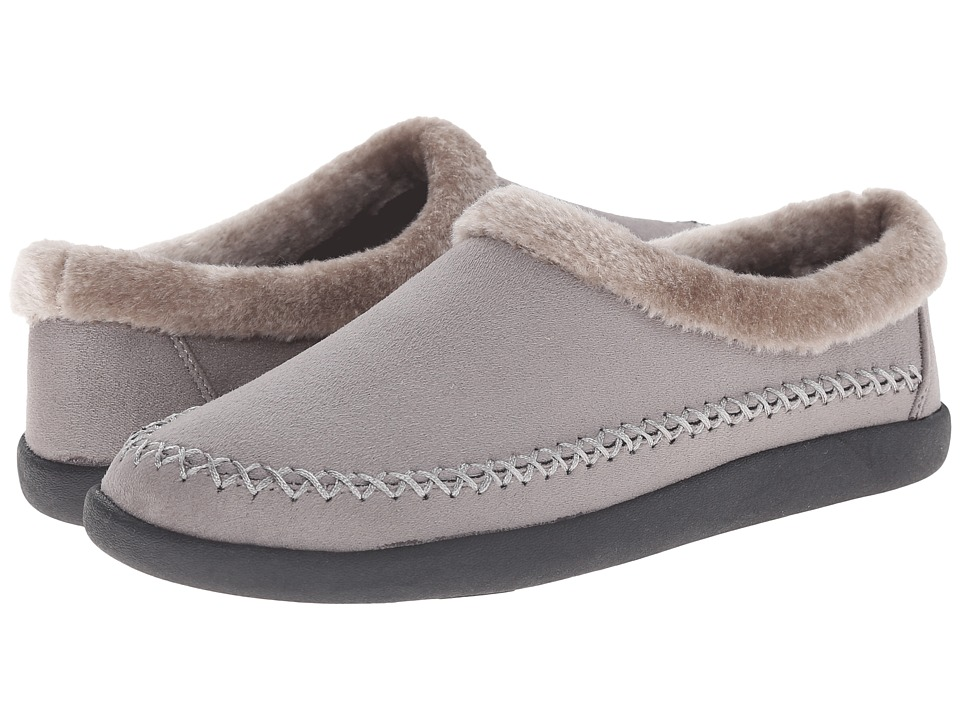 Tempur Pedic Conduction Charcoal Womens Slippers
