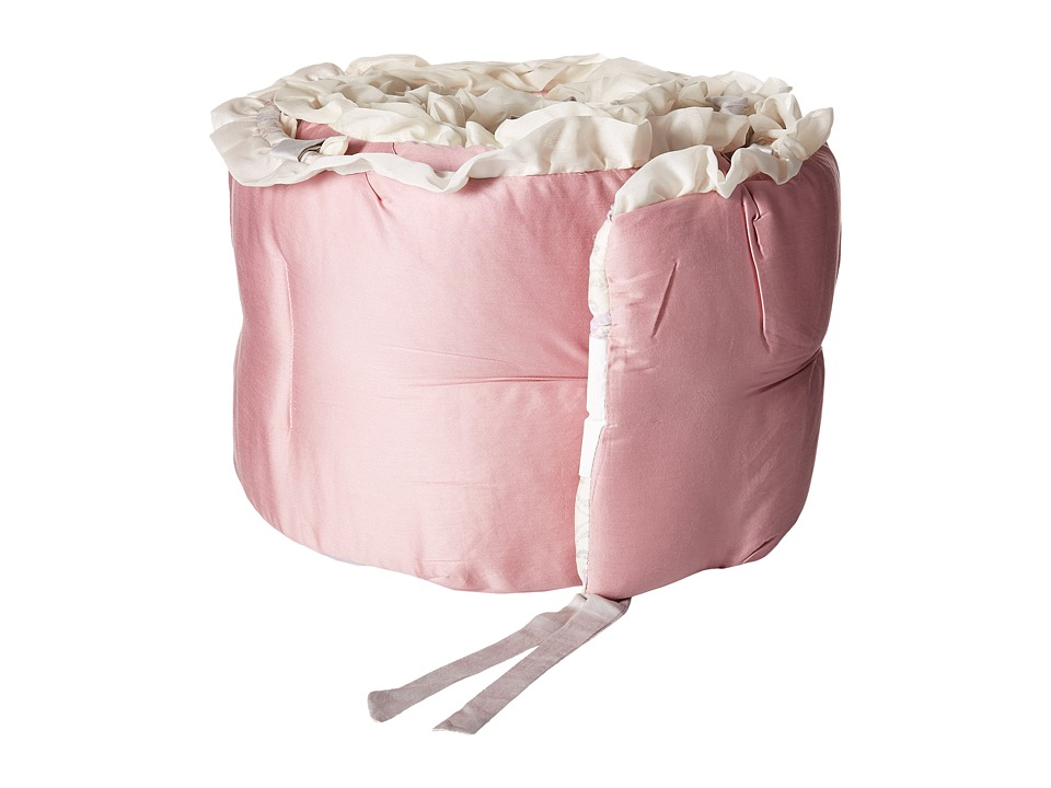 lolli LIVING Living Textiles Bumper Violet Collection Mauve Pintuck Sheets Bedding