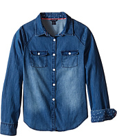 Tommy Hilfiger Kids - Denim Shirt (Big Kids)