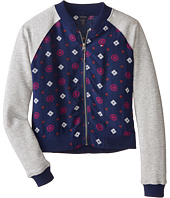 Tommy Hilfiger Kids - Rayon Challis Baseball Jacket (Big Kids)
