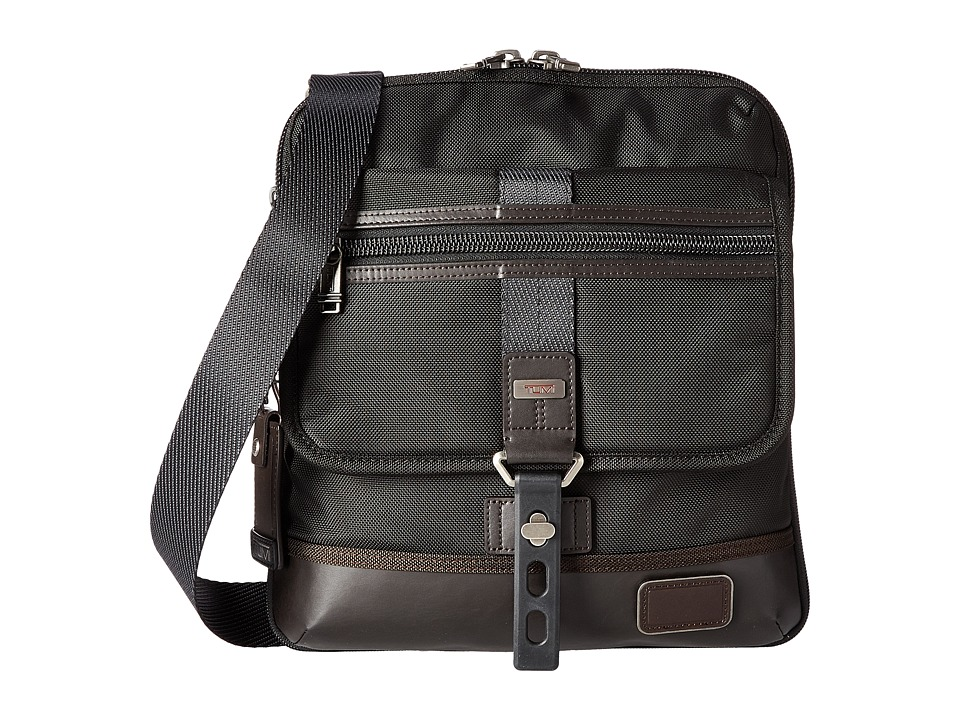 Tumi Alpha Bravo Annapolis Zip Flap (Hickory) Messenger Bags