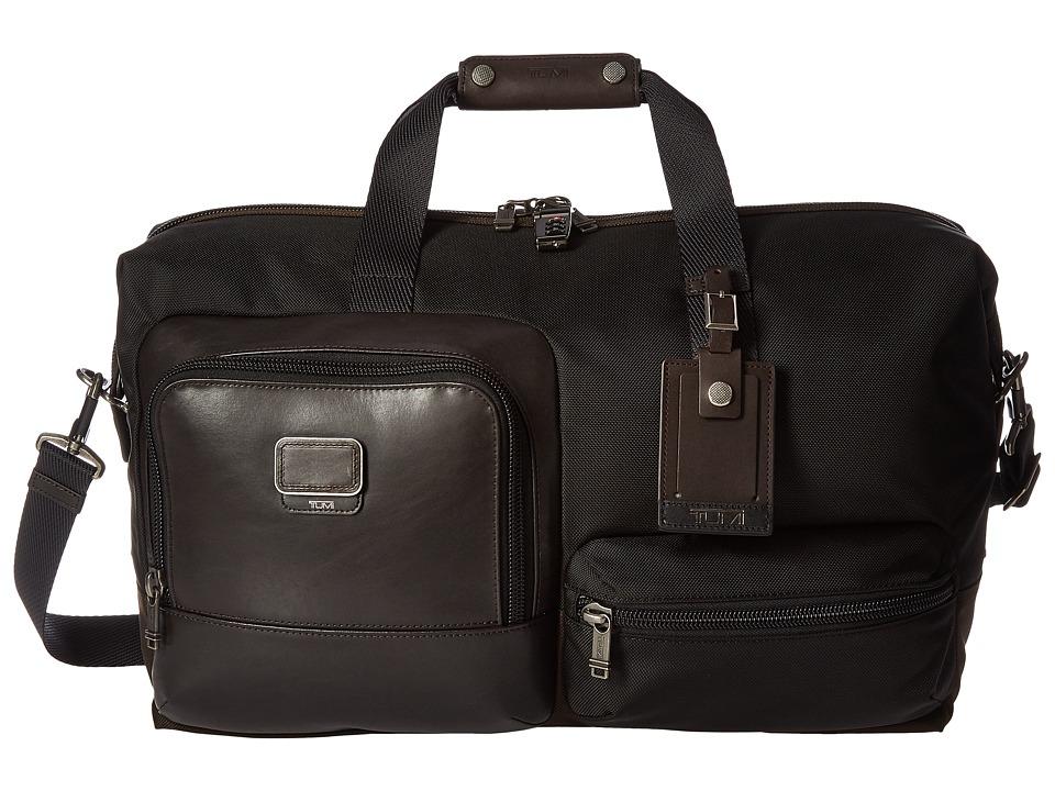 Tumi - Alpha Bravo - Grissom Travel Satchel (Hickory) Satchel Handbags