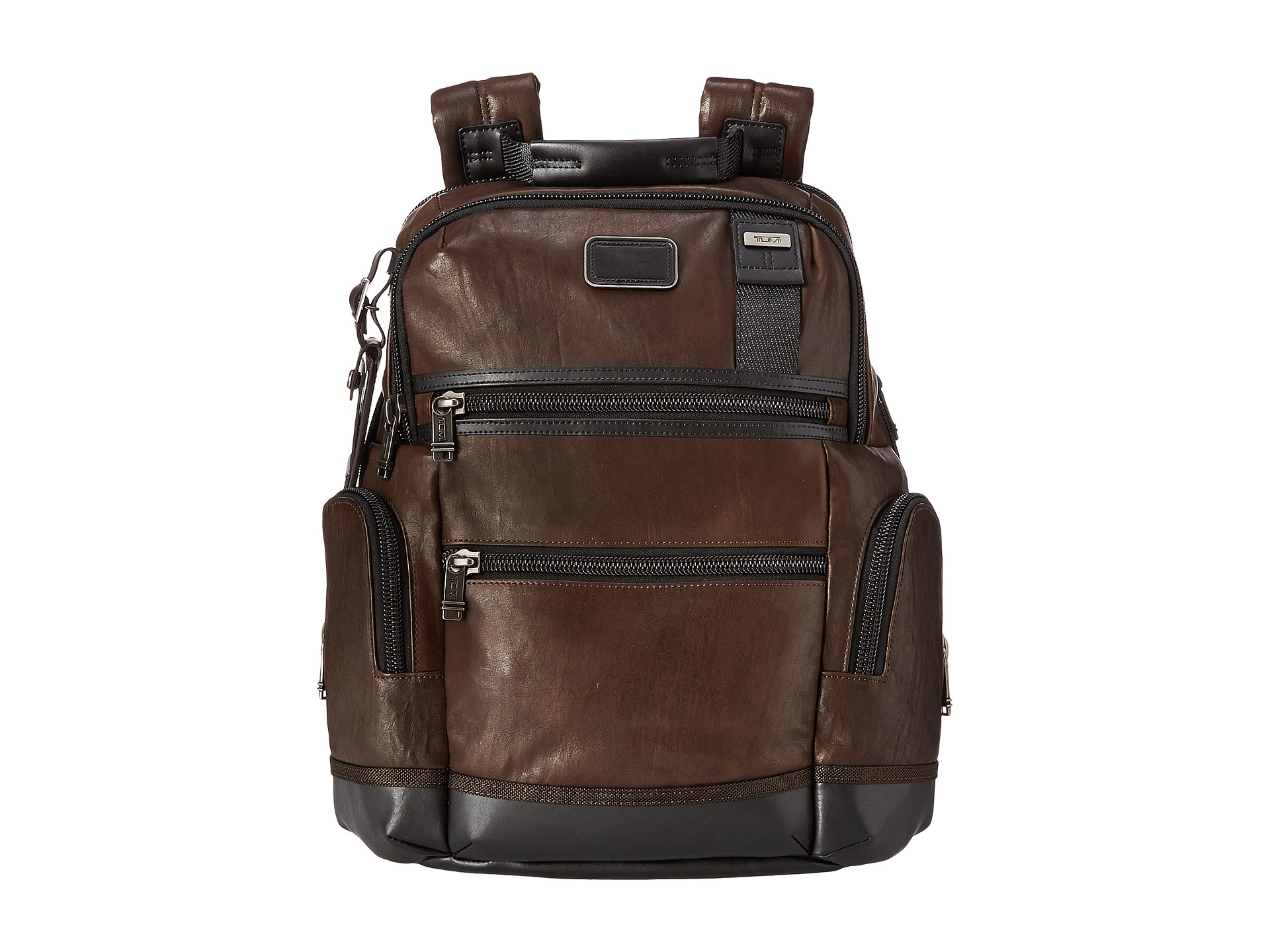 Tumi alpha bravo knox leather backpack zappos com free shipping