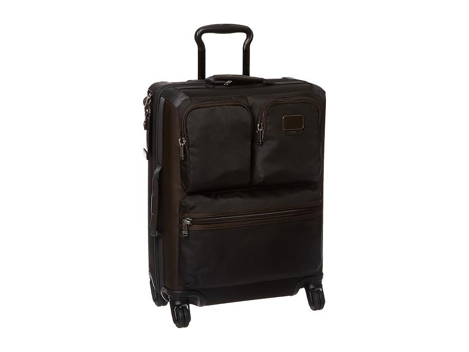Tumi Alpha Bravo Kirtland International Continental Carry-On (Hickory) Carry on Luggage