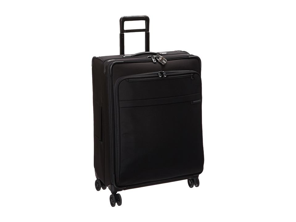 Briggs & Riley - Baseline Large Expandable Spinner (Black) Luggage