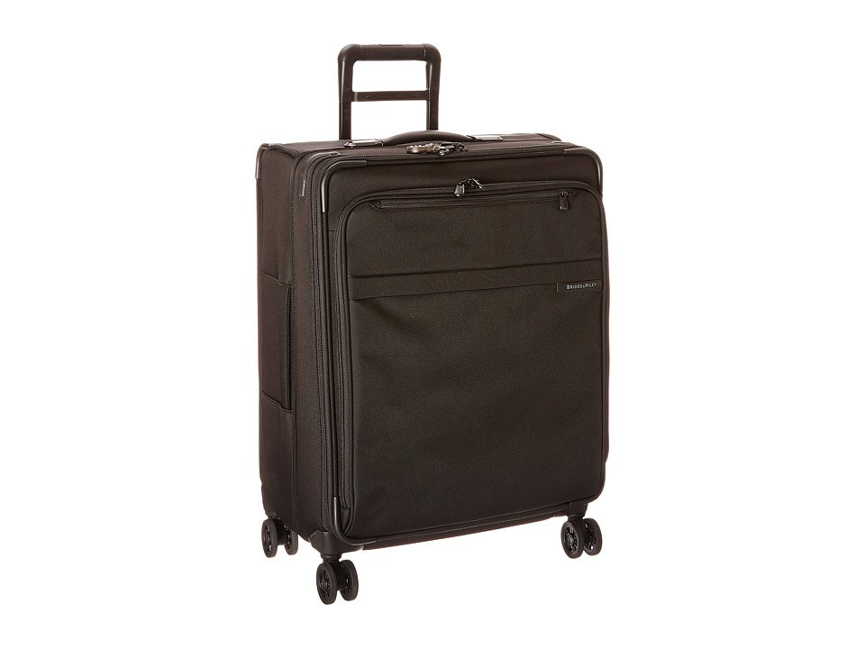 Briggs & Riley - Baseline Medium Expandable Spinner (Black) Luggage