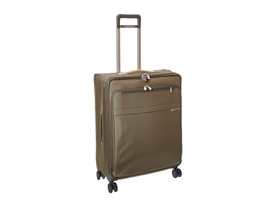 Briggs & Riley - Baseline Large Expandable Spinner (Olive) Luggage