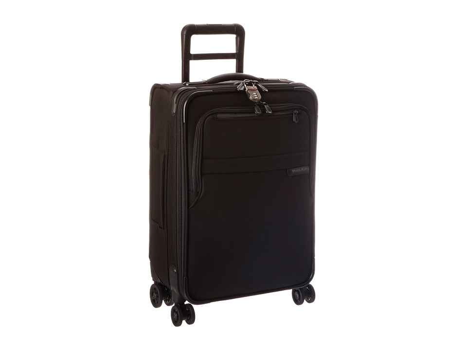 Briggs & Riley - Baseline Domestic Carry-On Expandable Spinner (Black) Carry on Luggage