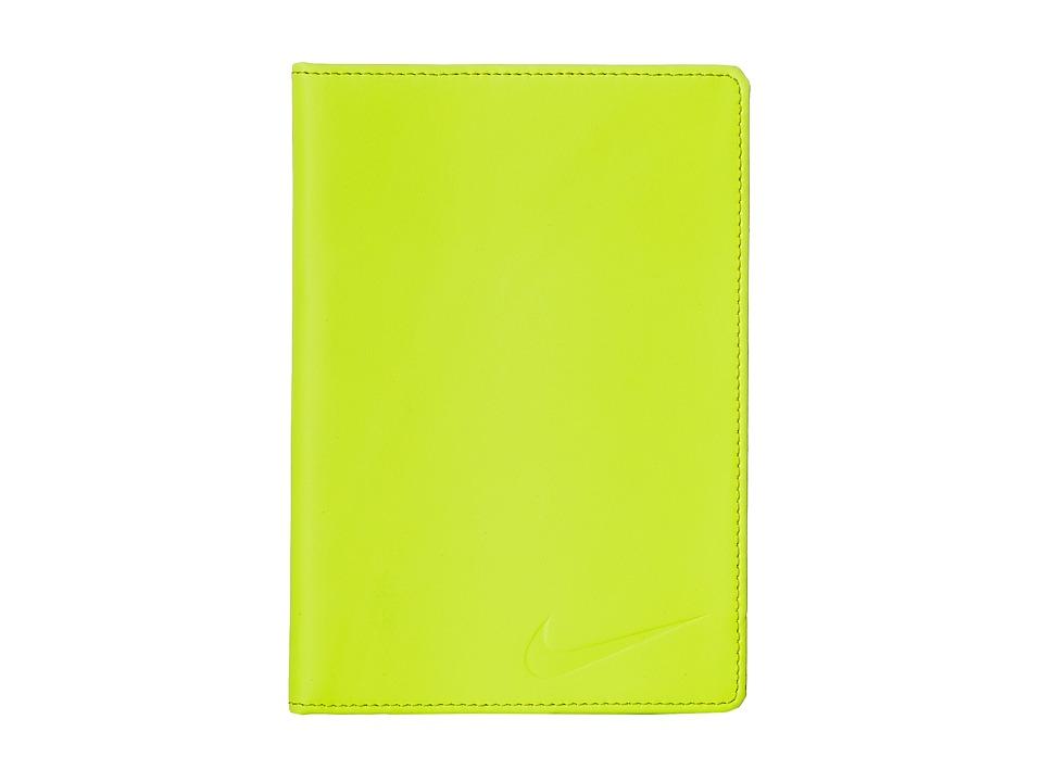 Nike - Yardage Card/Score Card Cover (Volt) Bi-fold Wallet