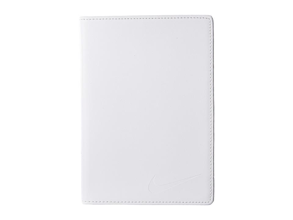 Nike - Yardage Card/Score Card Cover (White) Bi-fold Wallet