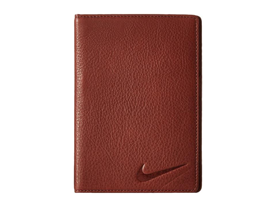 Nike - Yardage Card/Score Card Cover (Brown) Bi-fold Wallet