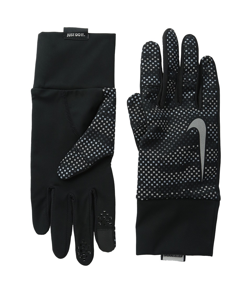 Nike Vapor Flash 2.0 Run Gloves (Anthracite/Black) Cycling Gloves